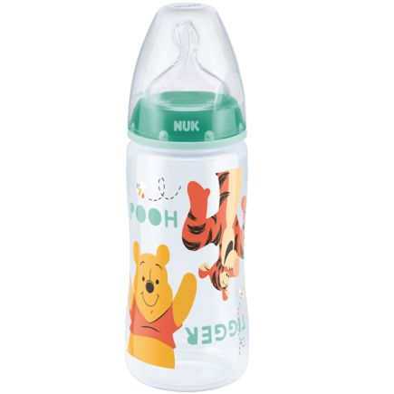 6-18 Monate Silicone mit Large-Feed Loch Babyflaschensauger 2 st/ück NUK First Choice Anti-Colic
